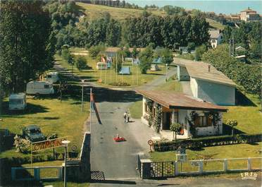 """CPSM FRANCE 15 """"Aurillac, camping de l'Ombrade"""""""