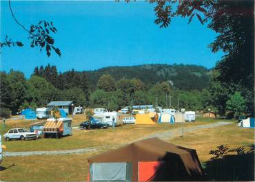 "CPSM FRANCE 15 ""Champs sur Tarentaine, le camping"""
