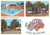 """17 Charente Maritime CPSM FRANCE 17 """"Ile de Ré, la Flotte en Ré, camping l'Ile Blanche"""""""