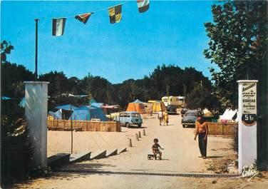 """CPSM FRANCE 17 """"Ile de ré, Rivedoux, le camping des Tamaris, l'entrée"""""""