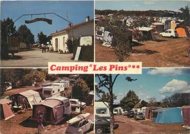 """CPSM FRANCE 17 """"Saint Palais sur Mer, camping Les Pins"""""""