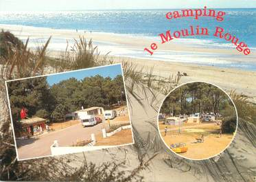 "CPSM FRANCE 17 ""Les Mathes, camping le Moulin rouge"""