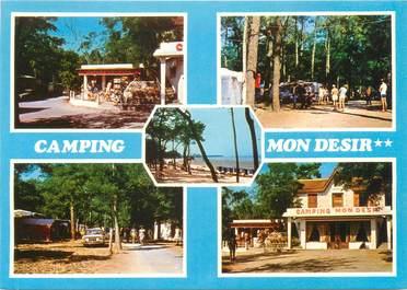 """CPSM FRANCE 17 """"Ronce Les Bains, camping mon désir"""""""