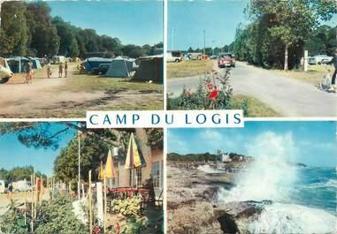 """CPSM FRANCE 17 """"Saint Palais sur Mer, camp du Logis"""" / CAMPING"""