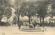 """75 Pari CPA FRANCE 75020 """"Paris, Place de la Réunion"""""""