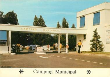 "CPSM FRANCE 17 ""Saintes, camping municipal"""