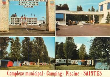 "CPSM FRANCE 17 ""Saintes, camping municipal """
