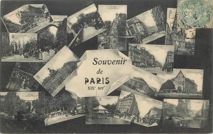 """CPA FRANCE 75019 """"Paris"""""""