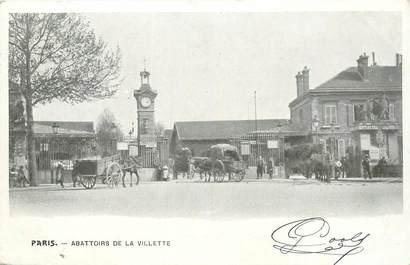 """CPA FRANCE 75019 """"Paris, les Abattoirs de la Villette"""""""
