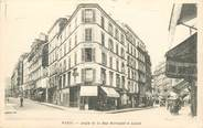 """75 Pari CPA FRANCE 75018 """"Paris, Angle de la rue Marcadet et Labat"""""""