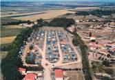 """17 Charente Maritime CPSM FRANCE 17 """"Châtelaillon Plage, camping les Boucholeurs, vue aérienne"""""""