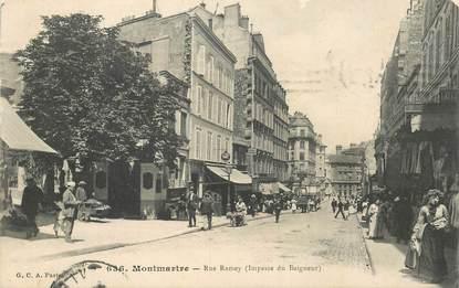 """CPA FRANCE 75018 """"Paris, Montmartre, Rue Ramey"""""""