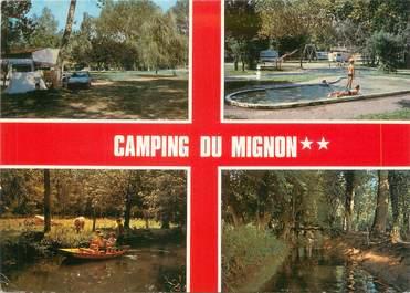 """CPSM FRANCE 17 """"Courcon d'Aunis, camping du Mignon"""""""