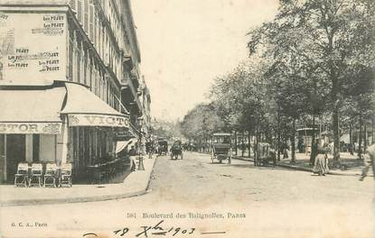 "CPA FRANCE 75017 ""Paris, Saint Bld des Batignolles"""