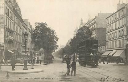"""CPA FRANCE 75017 """"Paris, avenue des Ternes"""""""