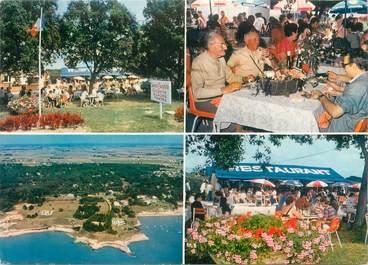 """CPSM FRANCE 17 """"Meschers les Bains, restaurant la Taverne Charentaise"""" / CAMPING"""