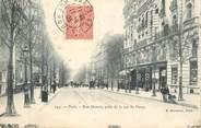 """75 Pari CPA FRANCE 75016 """"Rue Mozart prise de la rue de Passy"""""""