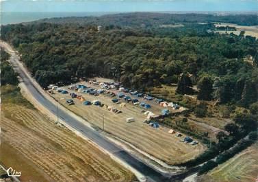 """CPSM FRANCE 17 """"Meschers, vue aérienne sur le camping"""""""