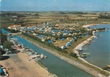 """CPSM FRANCE 17 """"Meschers, le camping et le port"""""""