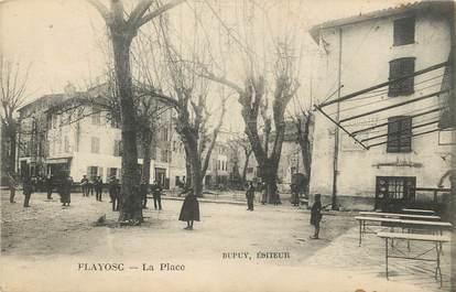 "/ CPA FRANCE 83 ""Flayosc, la place"""