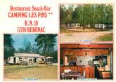 "17 Charente Maritime CPSM FRANCE 17 ""Bedenac, camping Les Pins"""