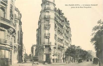 "CPA FRANCE 75016 ""Paris, L'avenue Malakoff"""