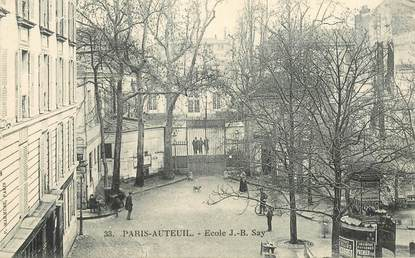 "CPA FRANCE 75016 ""Paris, Ecole JB Say"""