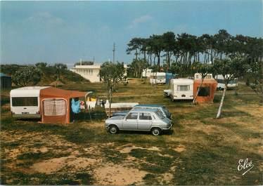 """CPSM FRANCE 17 """"Fouras, l'intérieur du camping municipal"""" / AUTOMOBILE"""