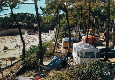 """CPSM FRANCE 17 """"Meschers, camping et plage de Suzac"""""""