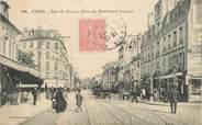 """75 Pari CPA FRANCE 75015 """"Paris, rue de Sèvres, prise du bld Pasteur"""""""