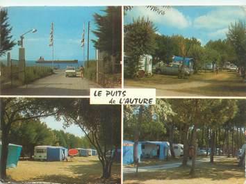 """CPSM FRANCE 17 """"Saint Palais sur Mer, le puits de l'Auture"""" / CAMPING"""
