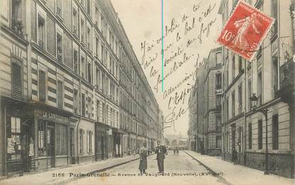 "CPA FRANCE 75015 ""Paris, avenue de Vaugirard"""