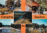 """19 Correze CPSM FRANCE 19 """"Argentat, camping du Saulou"""""""