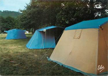 """CPSM FRANCE 19 """"Bort les Orgues, le camping"""""""