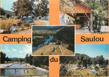 """CPSM FRANCE 19 """"Camping du Saulou """""""