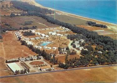 """CPSM FRANCE 20 """"Corse, domaine d'Anghione, le restaurant et la plage"""" / CAMPING"""