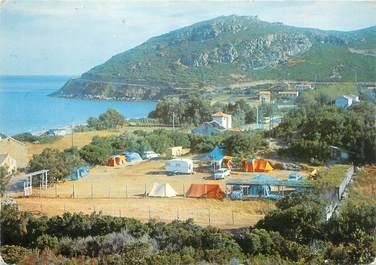 """CPSM FRANCE 20 """"Corse, Marine de Sisco, camping et plage Casaïola"""""""