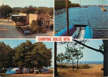 "CPSM FRANCE 20 ""Corse, Calvi, camping Dolce Vita"""