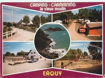 "CPSM FRANCE 22 ""Erquy, camping le vieux moulin"""