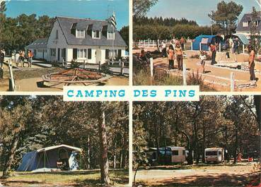 "CPSM FRANCE 22 ""Erquy, le camping des Pins"""