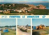 """22 Cote D'armor CPSM FRANCE 22 """"Ploumanac'h en Perros Guirec, camping Le Ranolien"""""""