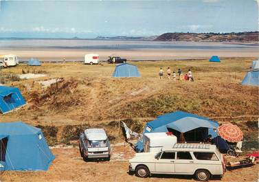 """CPSM FRANCE 22 """"Hillion"""" / CAMPING"""
