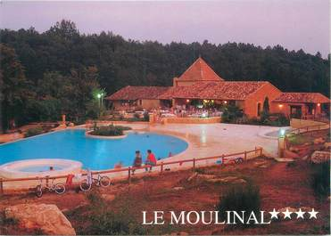 """CPSM FRANCE 24 """"Biron, camping le Moulinal"""""""