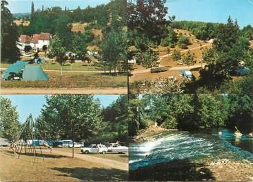 """CPSM FRANCE 24 """"Cubjac, le camping, le moulin du Rozier"""""""