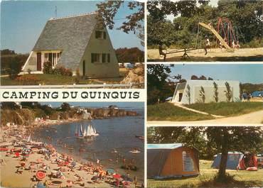 "CPSM FRANCE 29 ""Clohars Carnoet, camping du Quinquis"""