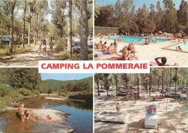 """CPSM FRANCE 30 """"Anduze, camping La Pommeraie"""""""