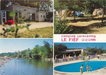 "CPSM FRANCE 30 ""Massilargues Attuech, camping le Fief """