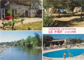 """30 Gard CPSM FRANCE 30 """"Massilargues Attuech, camping le Fief """""""