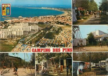"""CPSM FRANCE 30 """"Le Grau du Roi, camping des Pins"""""""