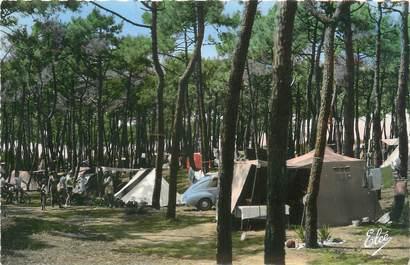 """/ CPSM FRANCE 33 """"Lacanau Ocean, le camping dans la forêt"""""""